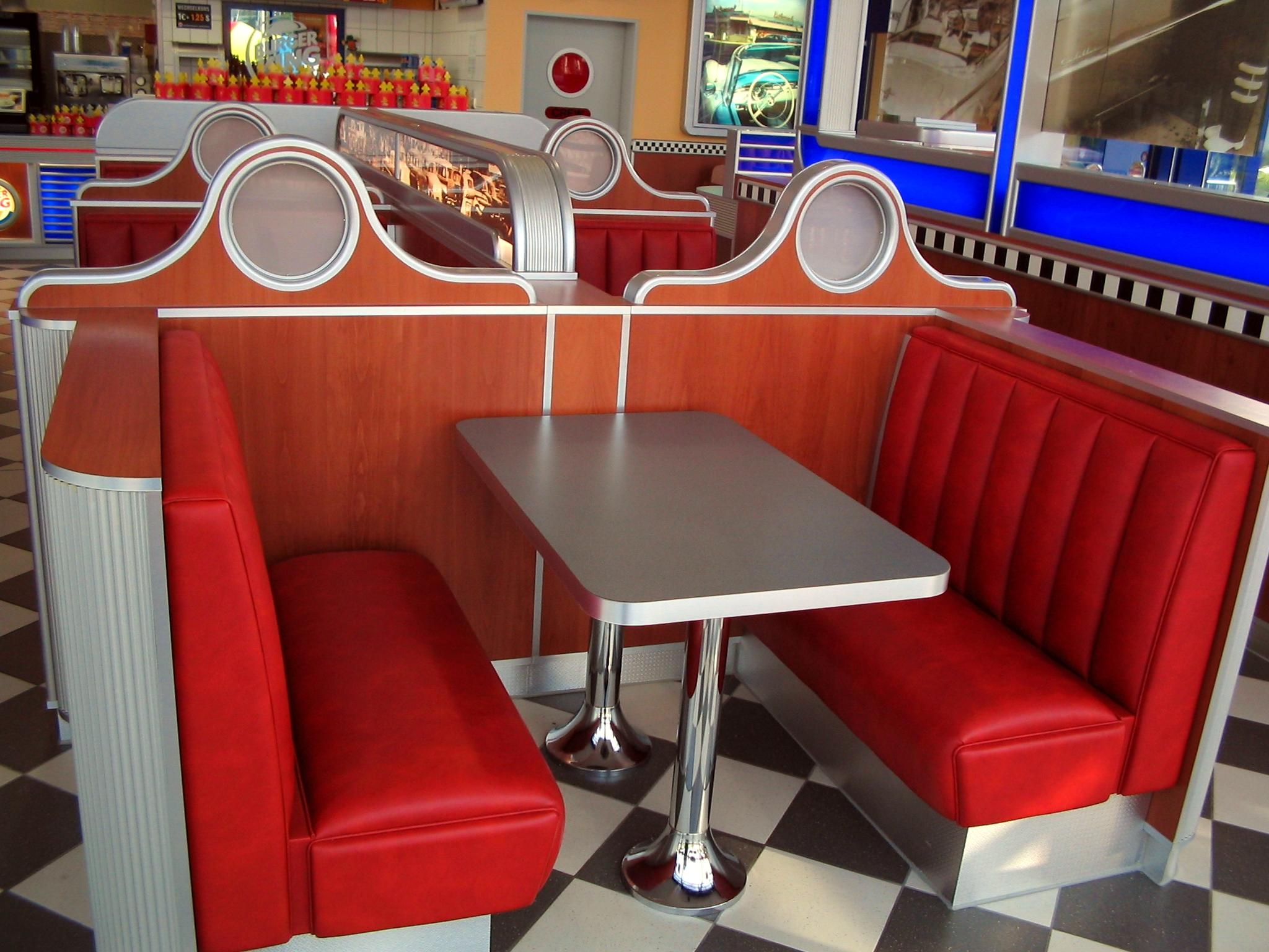 burger king möbel design